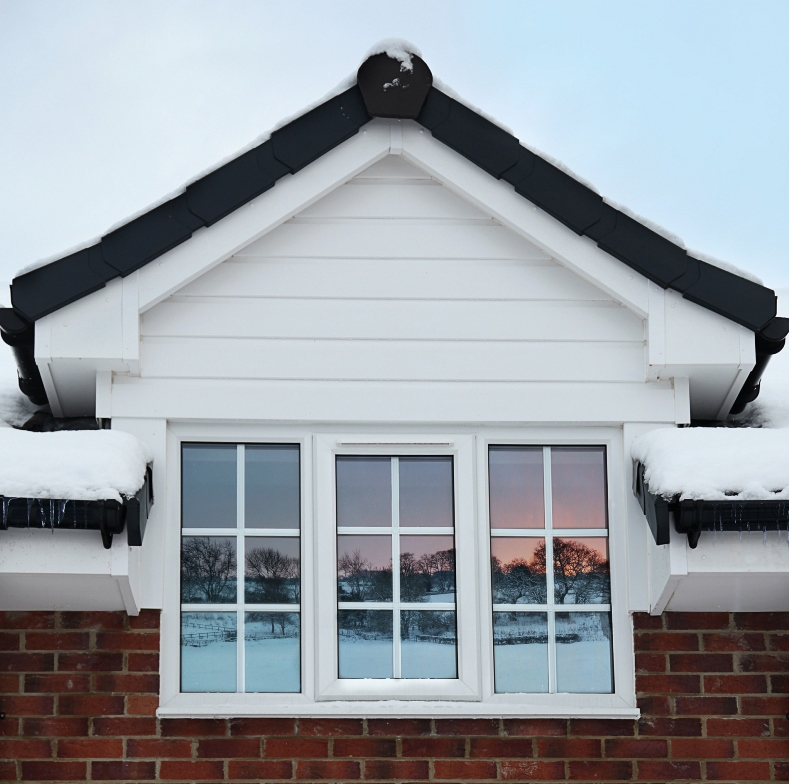 Roofline - fascia and soffit fitted in York, Yorkshire and surrounding villages