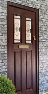 Wood effect replacement doors fitted in York, Yorkshire and surrounding villages