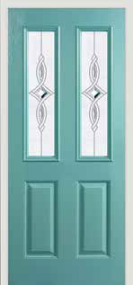 Half panelled replacement doors in York, Yorkshire and surrounding villages